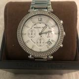 Michael Kors Accessories | Michael Kors Stainless Steel Bracelet Watch | Color: Silver | Size: Os