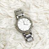 Michael Kors Accessories | Michael Kors Silver Link Watch Wristwatch | Color: Silver | Size: Os