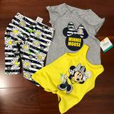 Disney Matching Sets   Disney Mickey Minnie Mouse Set   Color: black   Size: Various