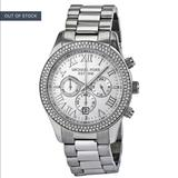 Michael Kors Accessories | Michael Kors Silver Watch With Diamonds | Color: Silver | Size: Os