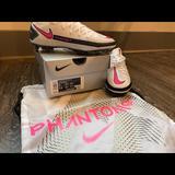 Nike Shoes | Nike Phantom Gt Elite Fg Soccer Cleats | Color: Pink/White | Size: 7.5