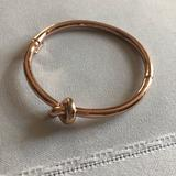 Kate Spade Jewelry   Kate Spade Rose Gold Knot Bracelet   Color: Gold/Red   Size: Os