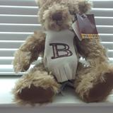 Burberry Holiday   Authentic Burberry Bear With Signature Scarf   Color: Brown   Size: Os