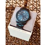 Michael Kors Accessories | Michael Kors Paxton Men'S Mk8533 Watch | Color: Blue | Size: Os