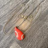 J. Crew Jewelry   Kiam Family Jcrew Necklace   Color: Gold/Pink   Size: Os