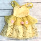Disney Costumes | Belle Halloween Costume | Color: Pink/Yellow | Size: 3t-4t