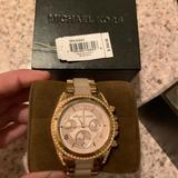Michael Kors Accessories   Michael Kors Watch Rose Gold Beautiful Watch   Color: Gold/Pink   Size: Os