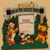 Disney Other | Pooh'S 10 Acre State Park Picture Frame | Color: black | Size: Os