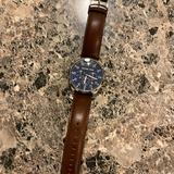 Michael Kors Accessories | Brand New Mens Michael Kors Watch | Color: Blue/Brown | Size: Os