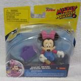 Disney Toys   Mickey And The Roadster Racers Mechanic Minnie   Color: Purple/Red   Size: 3