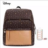 Disney Accessories | Disney Leather Diaper Backpackbottle Warmer | Color: Brown/Tan | Size: Osbb