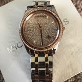 Michael Kors Accessories | Michael Kors 2 Tone Watch | Color: Gold/Silver | Size: Os