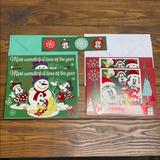 Disney Holiday   Disney Christmas Cards   Color: Green/Red   Size: 5x7