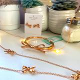 Kate Spade Jewelry | Brand New Kate Spade Gold Bow Jewelry Collection | Color: Gold | Size: Os