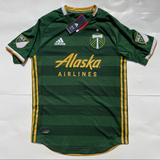 Adidas Shirts | New Adidas Mls Portland Timbers Home Soccer Jersey | Color: Gold/Green | Size: S