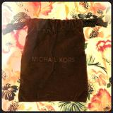 Michael Kors Jewelry   Chocolate Brown Michael Kors Jewelry Bag   Color: Brown   Size: Os