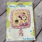 Disney Party Supplies   Disney Minnie Mouse 1 Birthday Foil Balloon   Color: Pink   Size: 18in45cm