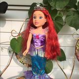 Disney Toys | Disney Princess & Me Ariel Doll | Color: Cream/Red | Size: 18 Tall