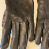 Coach Accessories | Coach Leather Gloves | Color: Black | Size: Os