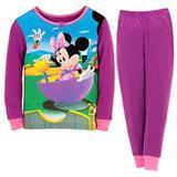 Disney Pajamas   Disney - Minnie Mouse Toddler Girl'S Pajamas   Color: Purple   Size: Various