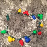 Disney Party Supplies   Christmas String Light Up Necklace   Color: Green/Red   Size: Os