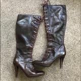 Nine West Shoes | Nine West Knee High Brown Boots | Color: Brown | Size: 6