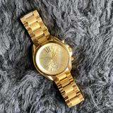 Michael Kors Accessories | Michael Kors Oversized Gold Watch (Bradshaw Style) | Color: Gold | Size: Os
