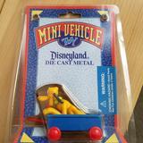 Disney Toys | Disneyland Die Cast Mini Vehicle Toy- Pluto | Color: Blue/Gold | Size: Boys Or Girls