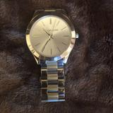 Michael Kors Accessories | Michael Kors Silver Watch | Color: Silver | Size: Os