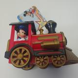 Disney Toys | Disney Talking Mickey Pullback Toy Train Car | Color: Black/Red | Size: Osb