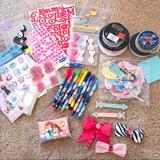 Disney Office | Disney Princess Scrapbook Craft Supplies | Color: Pink | Size: Os