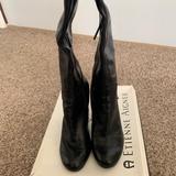 Nine West Shoes | Black Leather Boots | Color: Black | Size: 7.5