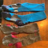 Nike Accessories | Nike Athletic Socks | Color: Blue/Gray | Size: Os