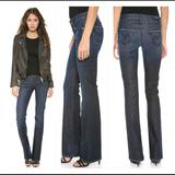 Anthropologie Jeans | C Of H Kelly Low Rise Dark Boot Cut Jeans Size 27 | Color: Blue | Size: 27