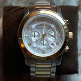Michael Kors Accessories | Mens Michael Kors Two-Tone Watch | Color: Gold/Silver | Size: Os