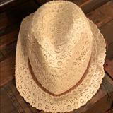 American Eagle Outfitters Accessories | American Eagle Hat | Color: Cream | Size: Os