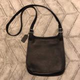 Coach Bags | Coach Vintage Hippie Flap Cross Body Bag Black9135 | Color: Black | Size: Os