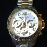 Michael Kors Accessories | Michael Kors Chronograph Ladies Watch | Color: Gold/Silver | Size: Fits Size 6 Wrist