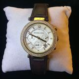 Michael Kors Accessories   Michael Kors Women'S Parker Gold-Tone Watch   Color: Brown/Gold   Size: Os