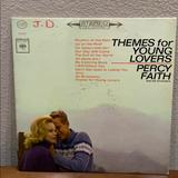 Columbia Other | Percy Faith Themes For Young Lovers Vinyl Album | Color: Silver/White | Size: Os