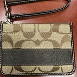 Coach Accessories | Coach Id Card Case Wallet With Zip | Color: Brown/Gold | Size: Os