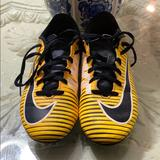 Nike Shoes | Nike Kids Soccer Cleats | Color: Orange/Yellow | Size: 5y