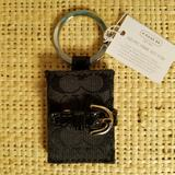 Coach Accessories | New Women'S Coach Picture Frame Key Fob | Color: Black | Size: 1.5 X 2.25