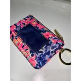Lilly Pulitzer Accessories | Lilly Pulitzer Wallet Keychain And Id Holder | Color: Pink/Purple | Size: Os