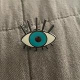Urban Outfitters Jewelry   Eye Pin   Color: Blue   Size: Os