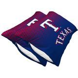 Texas Rangers Two-Pack Plush Dot Pillow Protectors