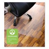 Floortex Cleartex Ultimat XXL Polycarbonate Chair Mat for Hard Floors, 60 x 60, Clear - FLR1215015019ER