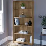 Bush Cabot Collection 5 Shelf Bookcase Reclaimed Pine - WC31566-03