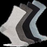 Merrell 4 Pack Crew Sock, Size: S/M, Multi Grey