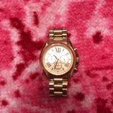 Michael Kors Accessories | Michael Kors Gold Chronograph Watch | Color: Gold | Size: Os
